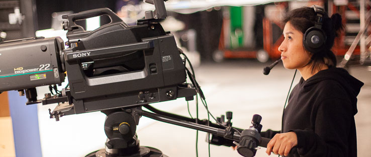 Our fully equipped Multi-Camera Studio