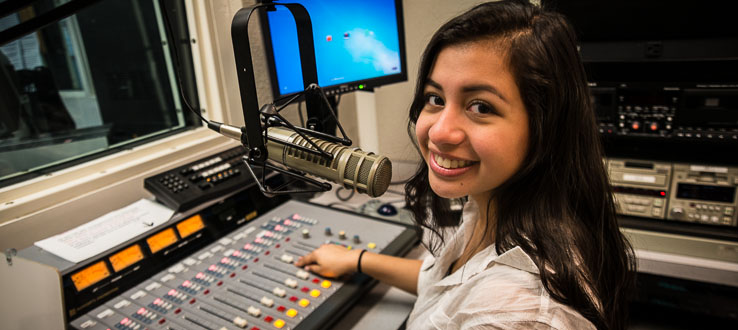 Express yourself on-air and become an on-campus fan favorite.