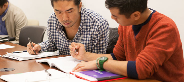 1<p>Students working together is a key to their success at ALA.</p>