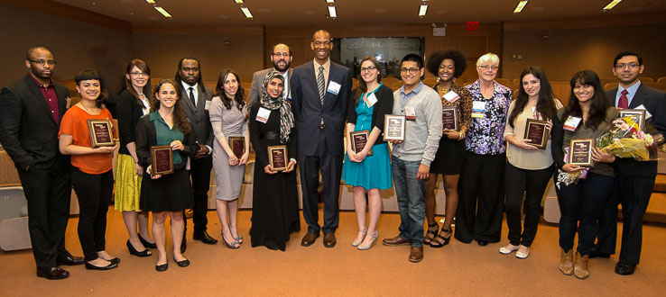 BCAA Student Award Winners at Annual Meeting
