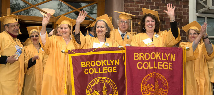 The Golden Anniversary Class is a big part of every year's Commencement program.