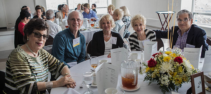 Brooklyn College alumni attend events throughout the year.