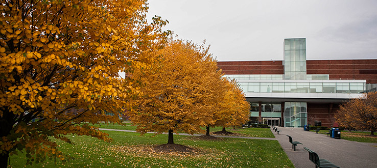 Autumn is a particularly lovely time to visit our campus.