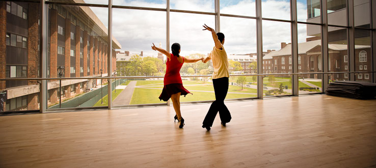 Views from our new studios will make you feel like dancing.