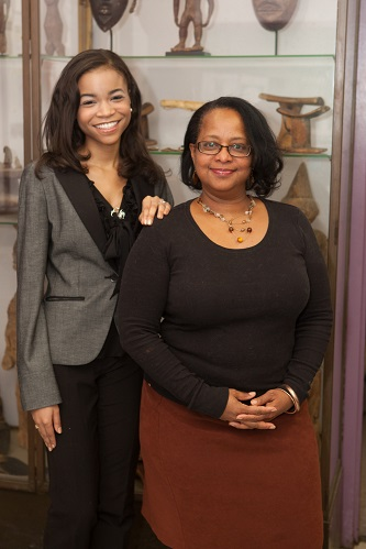 <p>Ruqayyah Batts '13 (left) says that mentorship from faculty like Professor Day was crucial to her success as a student and continues to serve her as she pursues her professional goals.</p>