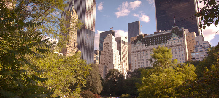Central Park — the most visited city park in the United States.