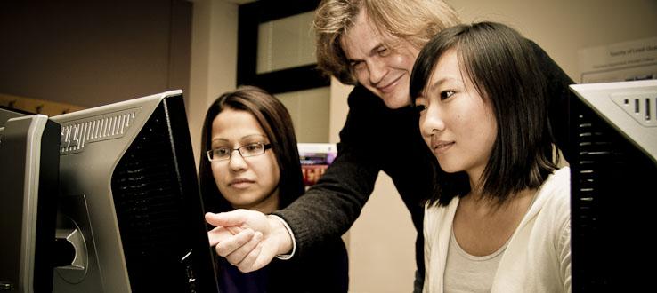Faculty provide expert guidance.