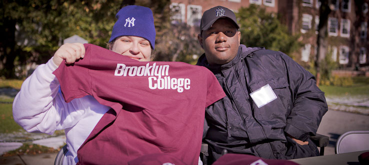 Share the pride of being a Brooklyn College student.