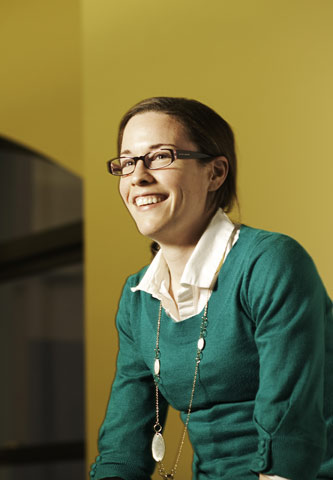 Assistant Professor of Chemistry Stacey Brenner-Moyer