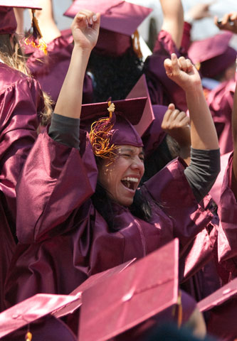Undergraduates will celebrate their graduation on May 31.