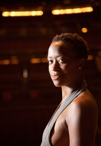 Ashley Brockington's sense of self is reflected in her stage work.