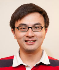 Zhenyu Cui, assistant professor of mathematics