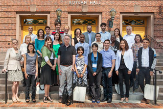 More than 30 full-time faculty members from a broad range of disciplines joined Brooklyn College in Fall 2013.
