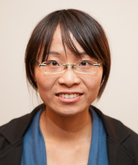 Assistant Professor Xinyin Jiang of health and nutrition sciences