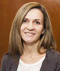 Assistant Professor Aneta Czajkowska of chemistry