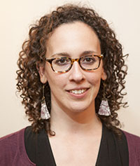 Assistant Professor Laura Mancia of history