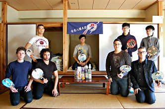 <p>Brooklyn College junior John Tan (second from left) says that immersing himself in Japanese culture during his study in Tokyo was an englightening experience, both personally and professionally. </p>