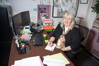 <p>Human Resources Manager of Classified Operations Lynda Sobieski '05 believes that it is of the utmost importance to pass blessings on and gives to many charitable organizations through the CUNY Campaign for Voluntary Charitable Giving.</p>
