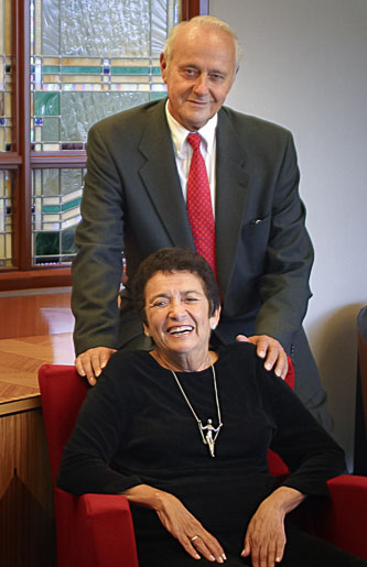 <p>Leonard '50 and Claire '52 Tow</p>