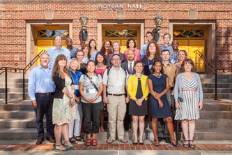 <p>More than 30 full-time faculty members from a broad range of disciplines joined Brooklyn College in Fall 2014.</p>