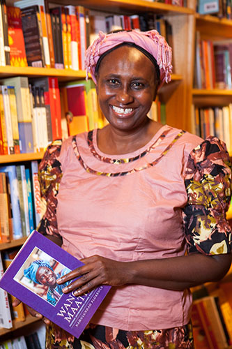 <p>Namulundah Florence discusses her book. </p>