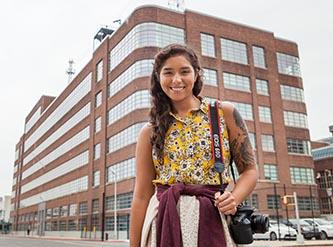 <p>New Feirstein student Amanda Reyes.</p>