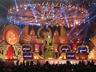 <p>The Screen Awards is a very glittery ceremony held each January in India.</p>