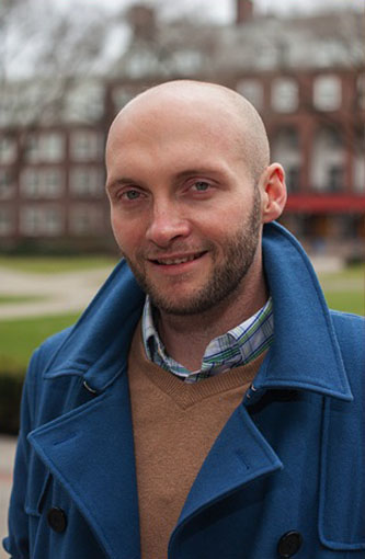 <p>Chris Martin, winner of a Fulbright fellowship. </p>