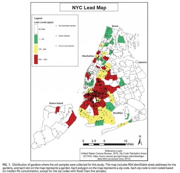 Brooklyn Zip Code Map 2017.Special Report Despite Progress Lead Hazards Vex New York