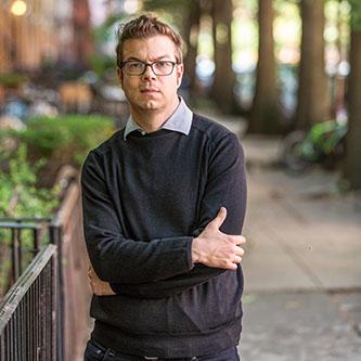 <p>Distinguished Professor Ben Lerner</p>