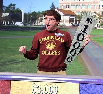 <p>Senior Matt Epstein was thrilled to be a contestant on <em>Wheel of Fortune</em> and even more excited to be the show's champion.  </p>