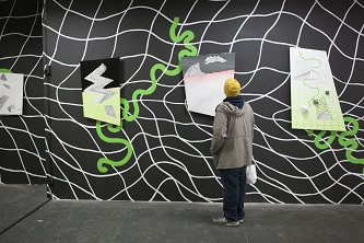 <p>Visitors were overwhelmed by the artistic talent on display at New York's Moynihan Station, exemplified by the otherworldly landscape installation created by M.F.A. art student, Charles Sommer. </p>