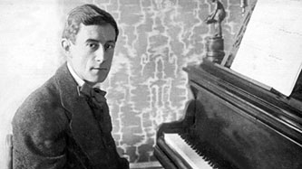 A youthful Maurice Ravel