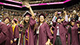 <p>The Brooklyn College Class of 2017 marched proudly into the Barclays Center arena.</p>