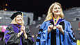 <p>CUNY Executive Vice Chancellor and University Provost Vita Rabinowitz was honored to install Michelle Anderson as president of Brooklyn College.</p>