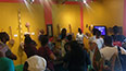 <p>At the Jamaica Music Museum, a tour guide shows BLMI Jamaica's long musical roots, including the creation of reggae.</p>