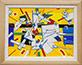 <p>Joseph M. E. Placide. <em>Explosion</em>, 2016. Acrylic on canvas, 18 x 24 inches</p>