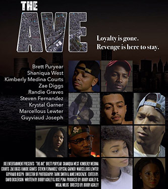 <p>The poster from Ashley's award-winning series <em>The Ave</em>. </p>