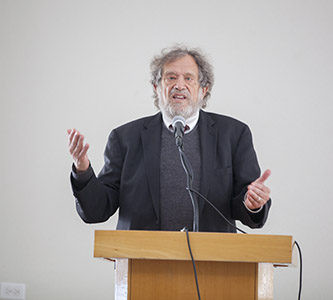 Rabbi Michael Lerner at Brooklyn College