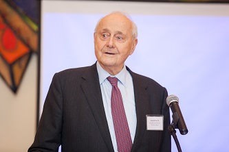 <p>Leonard Tow '50 (pictured) and his wife Claire '52 have been generous supporters of Brooklyn College for over two decades, donating millions through their organization, The Tow Foundation. </p>