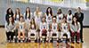 <p>The winning team (standing row from left): Assistant Coach Amalea Sideris, Breanna Maresca (35), Alexandra Moogan(4), Weronica Green (1), Jasmine Hansgen (25), Chanel Jemmot (50), Sarafina Carter (20), Coach Alex Lang; (sitting from left): Assistant Coach Michelle Pe&ntilde;a (2), Taylor George (2), Karen Mak (5), Emma Sommers (21), Grace Mart&iacute;nez-Espina (15), Assistant Coach Vanessa D'Ambrosi. </p>