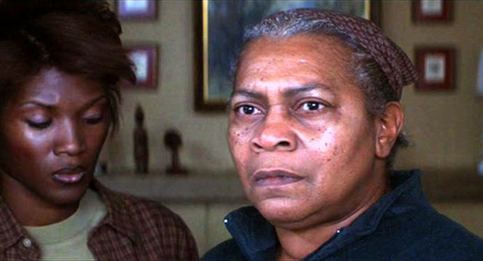 Novella Nelson as Mrs. Tate (with Yolanda Ross) in Denzel Washington's 2002 film <em>Antowne Fisher</em>