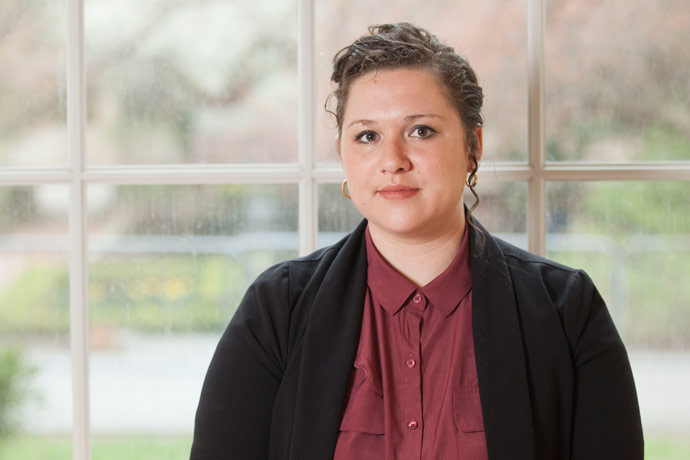 <p>Nicole Solis-Ramirez's multicultural background inspires her intersectional approach to her scholarly work.</p>