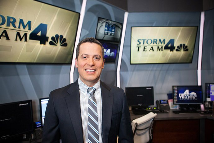 <p>At WNBC Storm Team 4 Headquarters, Miranda provides his award-winning forecasts for millions of people in the tri-state area.</p>