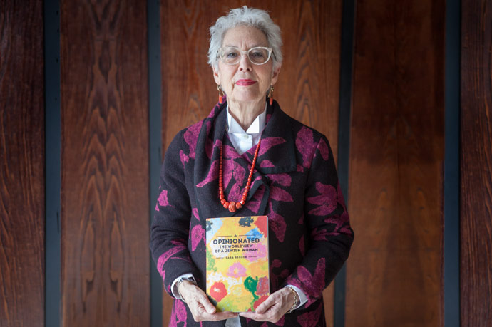 <p><em>Opinionated: The World View of a Jewish Woman</em> collects the best of Professor Sara Reguer's 20 years of articles and essays that originally appeared in <em>The Jewish Press</em>. The cover was designed by her husband, Raffaele Fodde.</p>