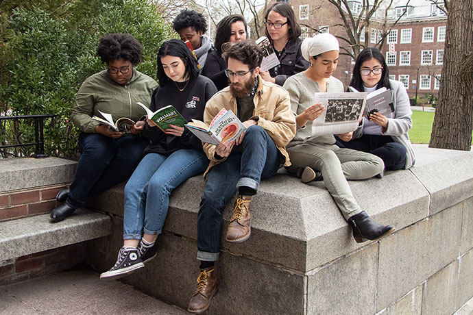 Brooklyn College students, before the pandemic closed campus, enjoy what U.S. & World Report called the most Ethnically Diverse Campus in the North Region for 2021.