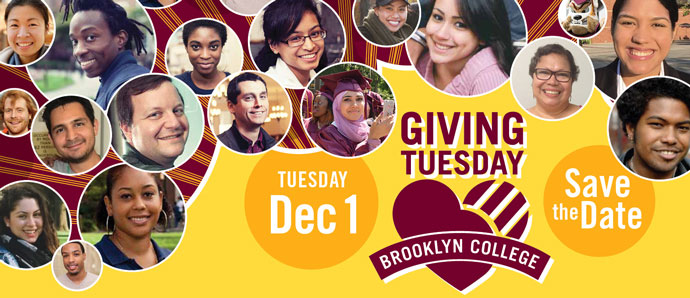 Giving Tuesday Save the Date: December 1, 2020