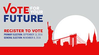 <p>Vote for Your Future</p>