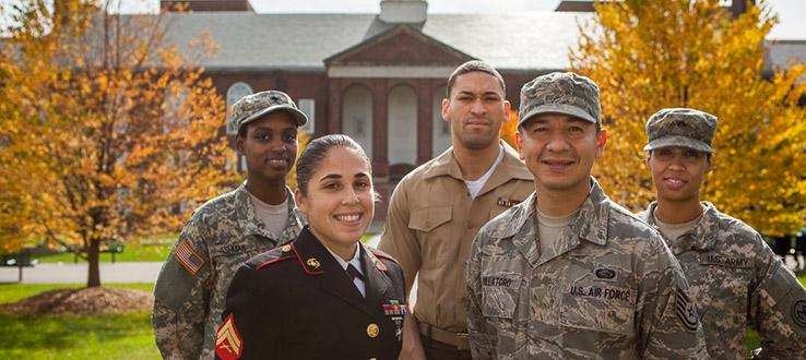 Veterans and service members are a highly valued component of our campus community.