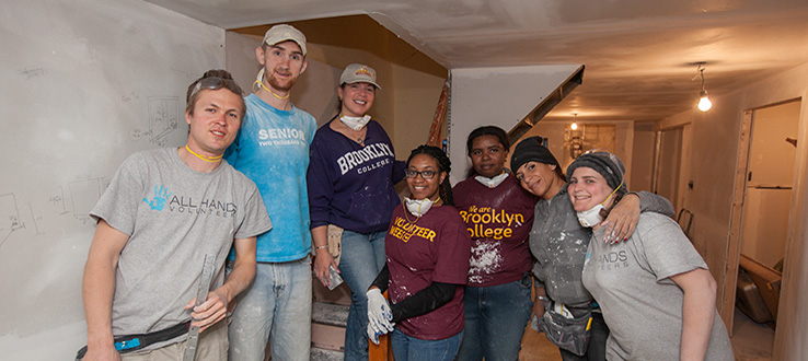 Our students constantly lend a hand to community-based volunteer projects.